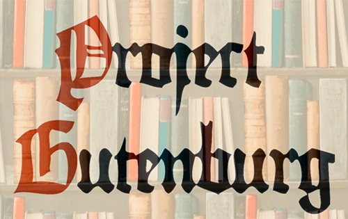 Project Gutenberg e-bøger