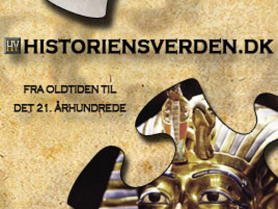 Logo: Historiens Verden