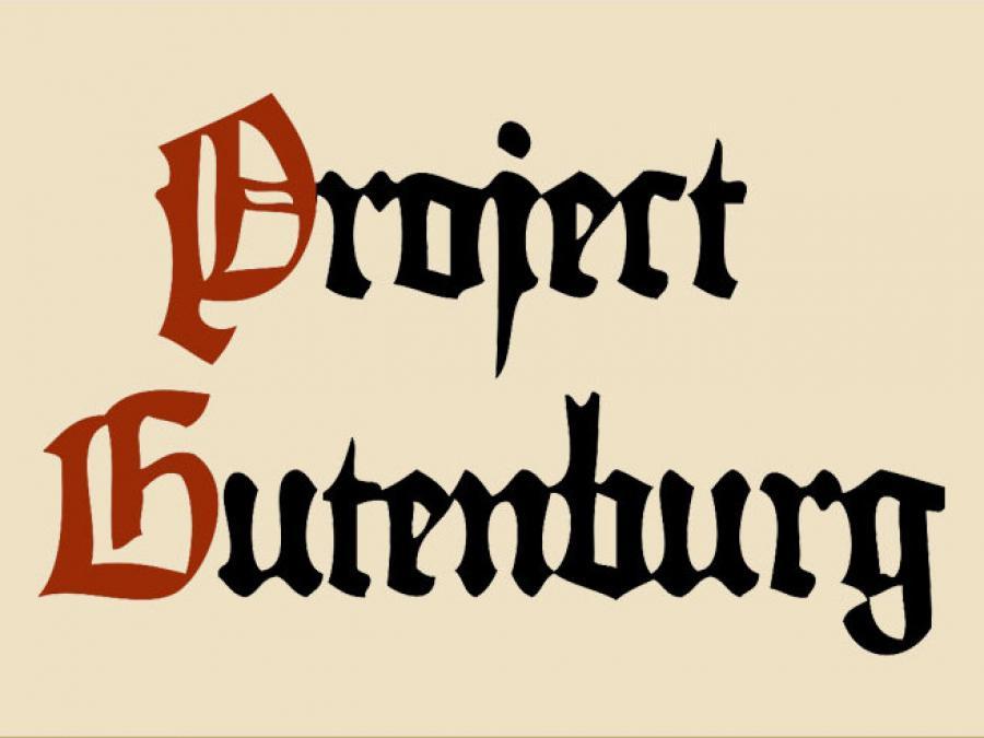 Logo: Project Gutenberg