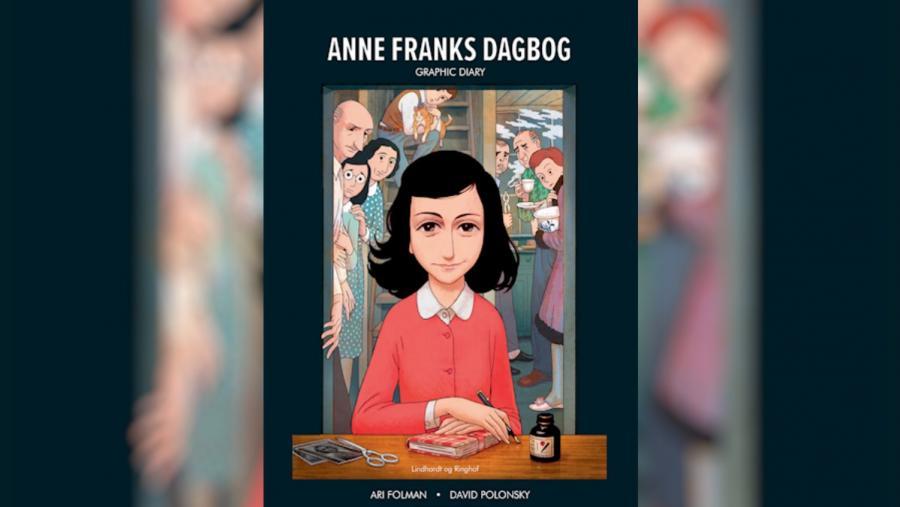 Forside: Anne Franks dagbog