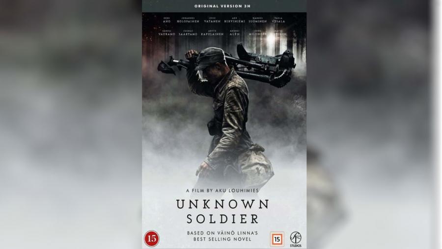 Forside: Den ukendte soldat