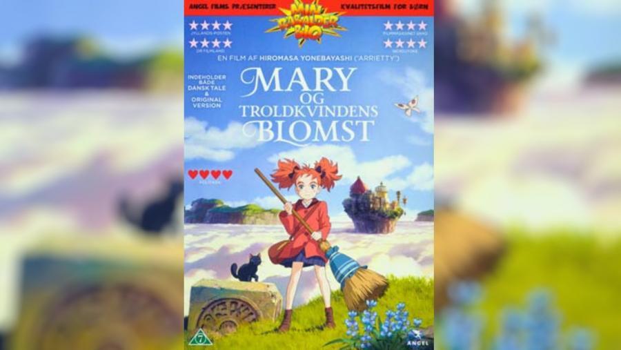 Forside: Mary og Troldkvindens Blomst