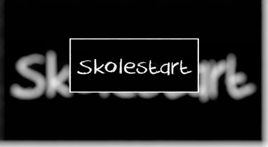 Forside:Skolestart