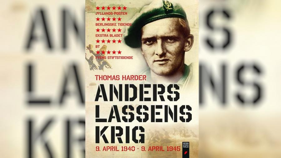 Forside: Anders Lassens krig