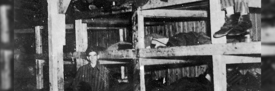 Foto af Jules Rouard fra Buchenwald april 1945